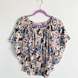 Mary & Mabel Floral Blouse XS
